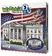 The Classics: The White House 3D - 490 Teile Puzzle