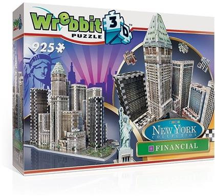 New York Collection: Financial 3D - 925 Teile Puzzle