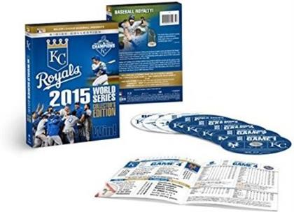 MLB: 2015 World Series - Royals Win! (Collector's Edition, 8 DVDs)