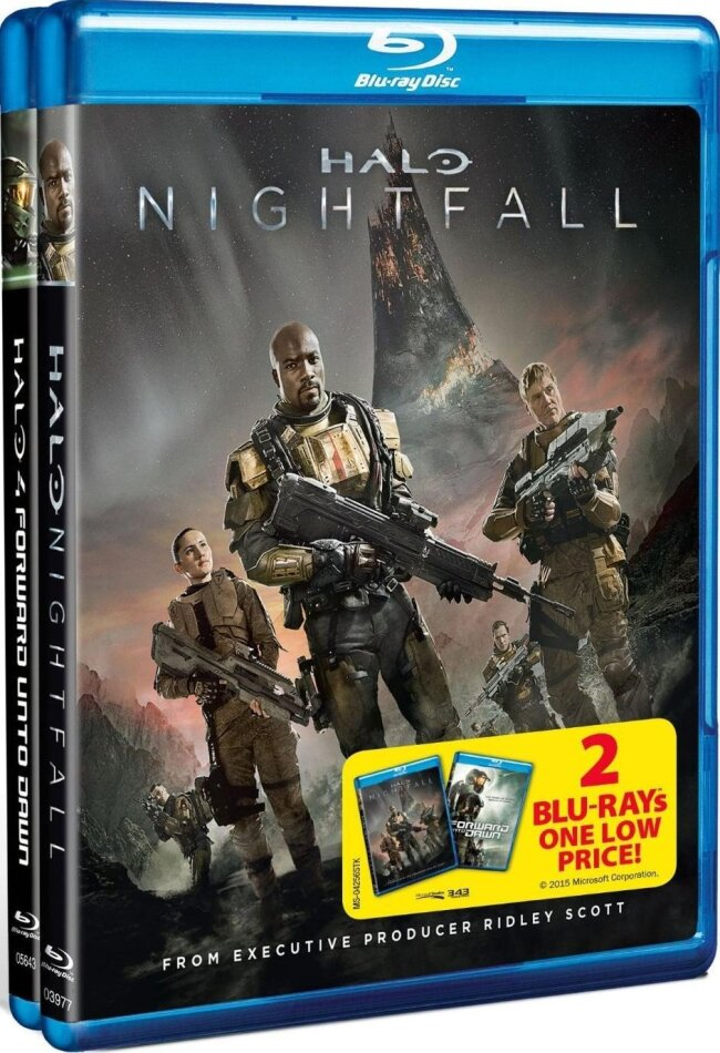 Halo Nightfall Halo 4 Forward Unto Dawn 2 Blu Rays Cede Com