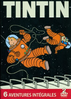 Tintin - 6 aventures intégrales (Metalbox, Limited Edition, 2 DVDs)