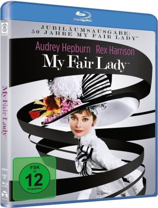 My fair lady (1964) (50th Anniversary Edition, Remastered, 2 Blu-rays)