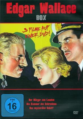 Edgar Wallace Box - Der Würger von London / Die Kammer des Schreckens / Das mysteriöse Schiff (s/w)