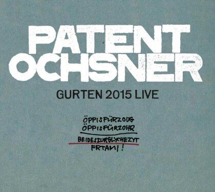 Patent Ochsner - Gurten 2015 - Live