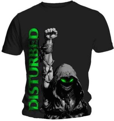 Disturbed Unisex Tee - Up Your Fist