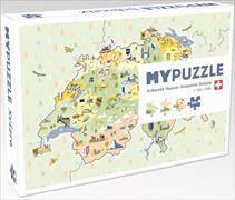 MYPUZZLE Schweiz illustrated - 260 Teile Puzzle