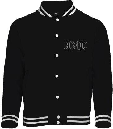 AC/DC - Back In Black College Jacket - Grösse L