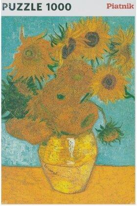 Van Gogh - Vase mit Sonnenblumen (Puzzle)