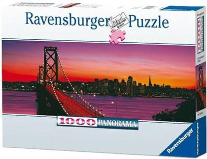 San Francisco, Oakland Bay Bridge bei Nacht - 1000 Teile Puzzle