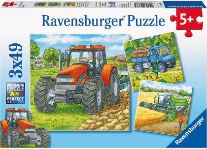 Grosse Landmaschinen - Puzzle