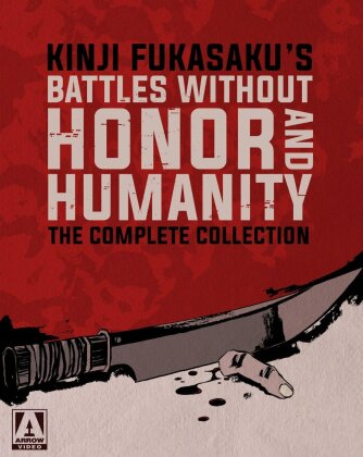 Battles Without Honor and Humanity - The Complete Collection (Box, Limited Edition, 6 Blu-rays + 7 DVDs)