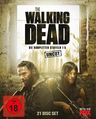 The Walking Dead - Staffel 1-5 (Uncut, 21 Blu-rays)