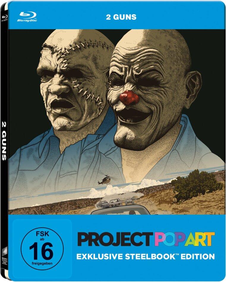 2 Guns (2013) (Project Pop Art Edition, Steelbook)