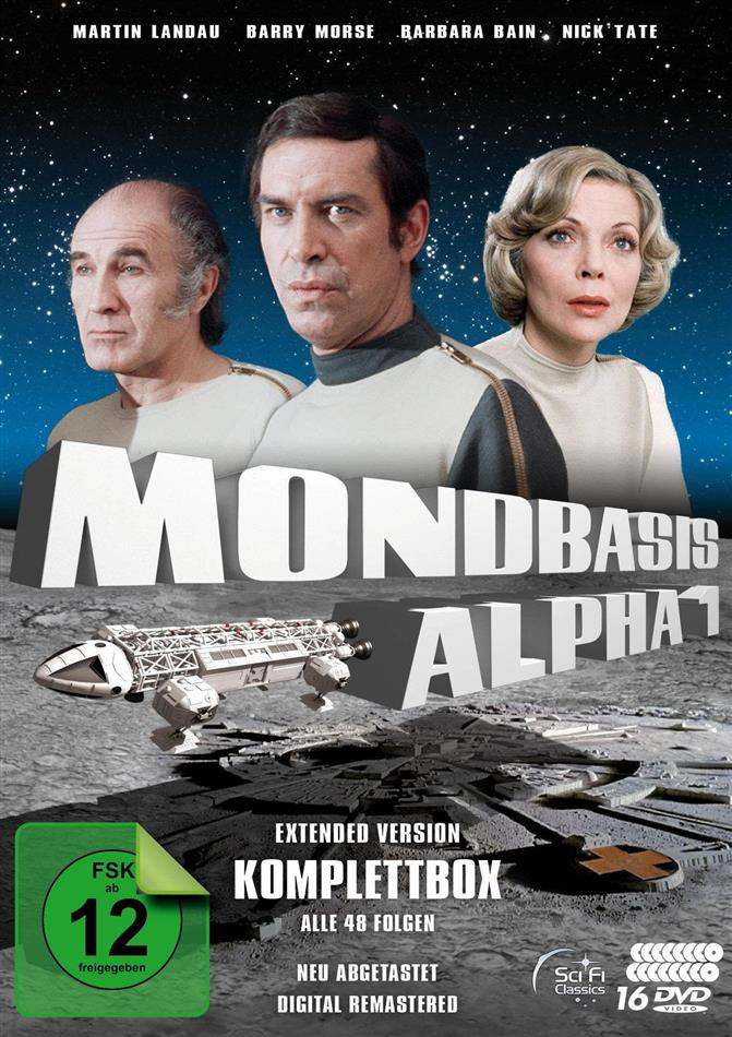 Mondbasis Alpha 1 - Komplettbox (Extended Edition, Remastered, 16 DVDs)