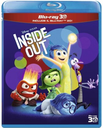 Inside Out (2015) (Blu-ray 3D + Blu-ray)