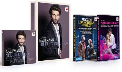 Jonas Kaufmann - The Puccini Edition (Sony Classical, 3 DVDs + CD)