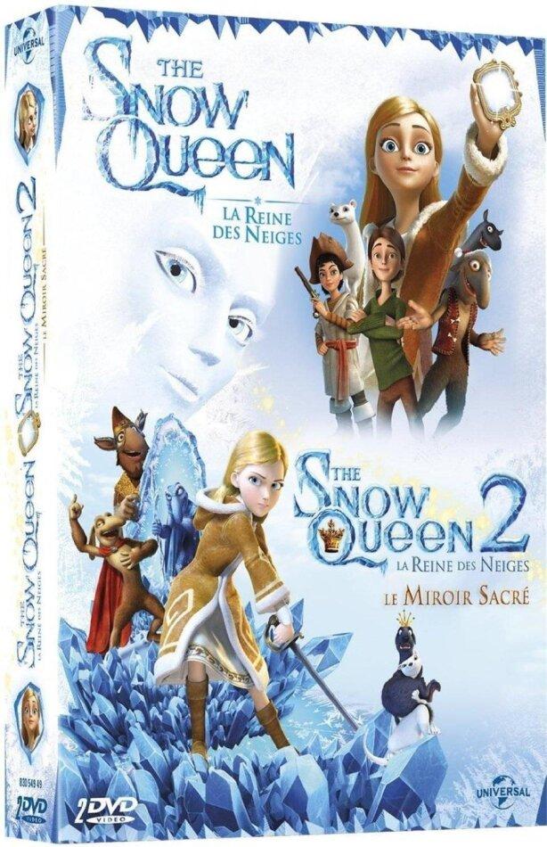 The Snow Queen 1 & 2 - La Reine des Neiges / Le Miroir Sacré (2 DVDs)