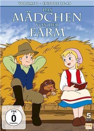 Das Mädchen von der Farm - Volume 2 - Episode 26-49 (5 DVDs)