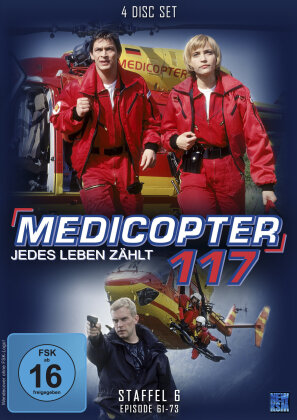 Medicopter 117 - Staffel 6 (4 DVDs)