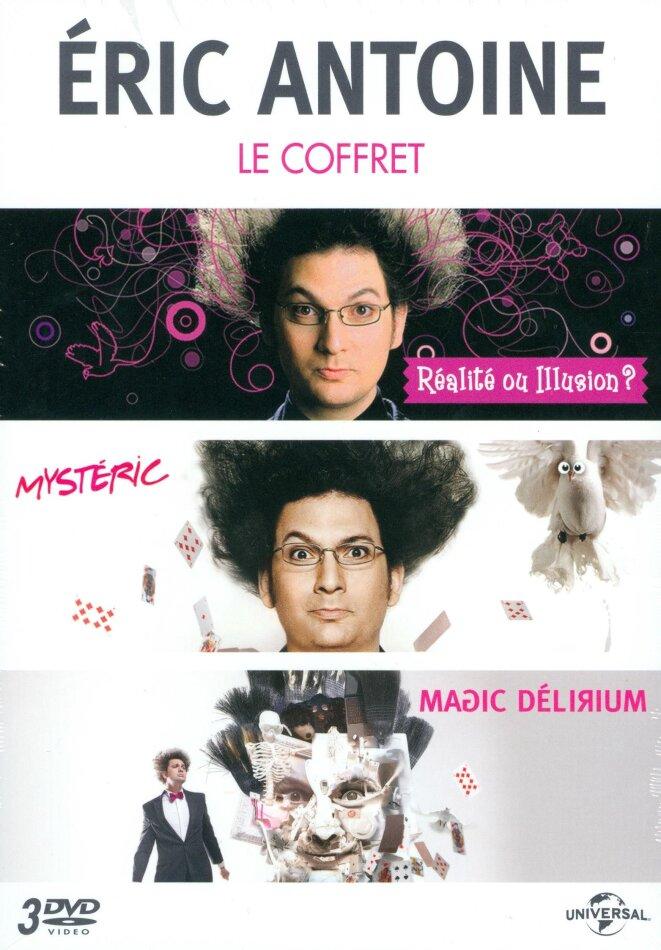 Eric Antoine - Réalité ou illusion ? / Mystéric / Magic Délirium (3 DVDs)