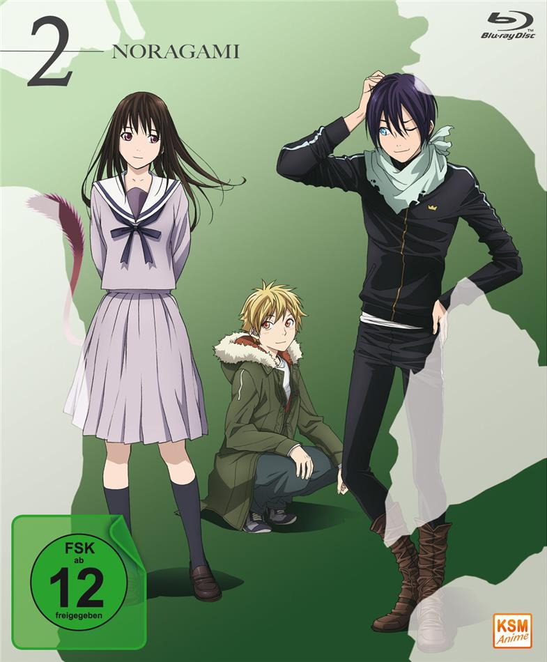 Noragami - Staffel 1 - Volume 2: Folge 07-12