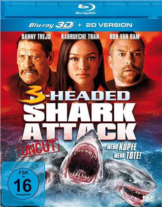 3-Headed Shark Attack (2015) (Uncut)