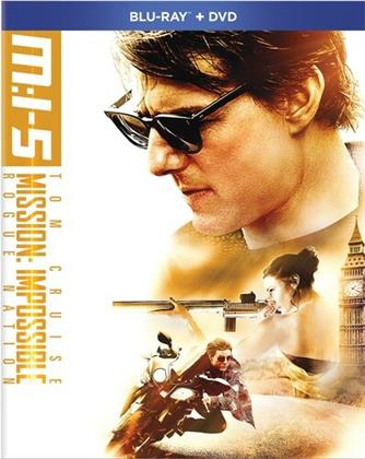 Mission: Impossible 5 - Rogue Nation (2015) (Blu-ray + DVD)