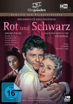 Rot und Schwarz (1954) (Filmjuwelen, 2 DVDs)
