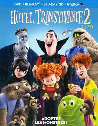 Hôtel Transylvanie 2 (2015) (Blu-ray 3D + Blu-ray + DVD)