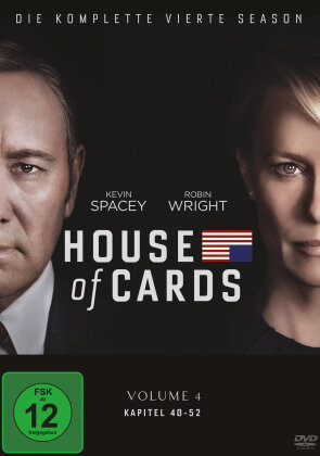 House of Cards - Staffel 4 (Digibook, 4 DVDs)