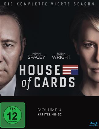 House of Cards - Staffel 4 (Digibook, 4 Blu-ray)