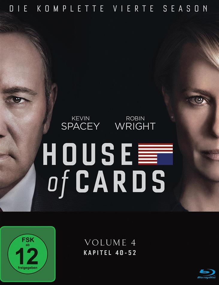House of Cards - Staffel 4 (Digibook, 4 Blu-rays)