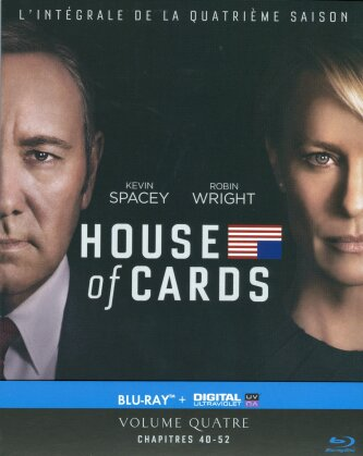 House of Cards - Saison 4 (4 Blu-rays)