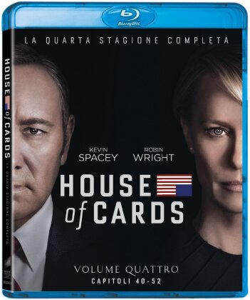 House of Cards - Stagione 4 (4 Blu-rays)