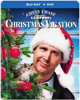 Christmas Vacation (1989) (Steelbook, Blu-ray + DVD)