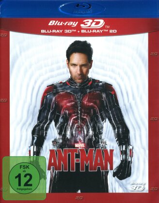 Ant-Man (2015) (Blu-ray 3D + Blu-ray)