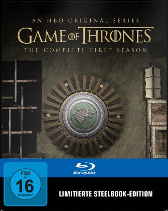 Game of Thrones - Staffel 1 (inkl. Magnet Siegel, Limited Edition, Steelbook, 5 Blu-rays)