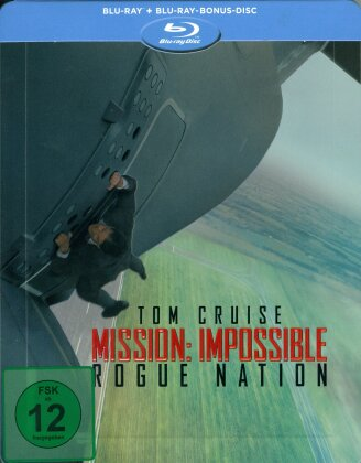 Mission Impossible 5 - Rogue Nation (2015) (Limited Edition, Steelbook, 2 Blu-rays)