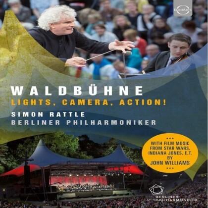 Berliner Philharmoniker, … - Waldbühne in Berlin 2015 - Lights, Camera, Action! (Euro Arts)