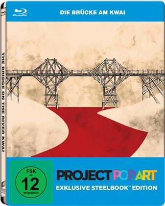 Die Brücke am Kwai (1957) (Project Pop Art Edition, Steelbook)