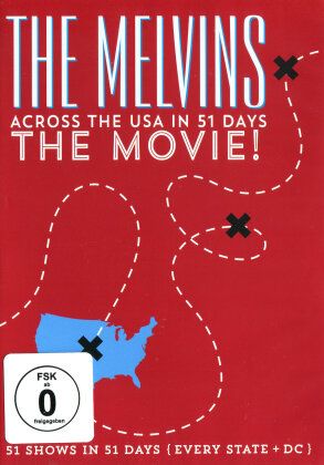 The Melvins - Across The USA In 51 Days