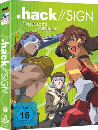 Hack // Sign - Box Vol. 2 (Collector's Edition, 3 DVDs)