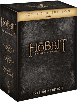 The Hobbit - The Motion Picture Trilogy (Extended Edition, 15 DVDs)