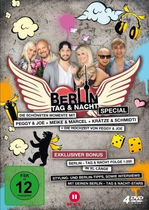 Berlin - Tag & Nacht - Special - Die schönsten Momente mit Peggy & Joe, Meike & Marcel, Krätze & Schmidti (4 DVDs)