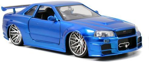 Fast & Furious: Nissan Skyline GTR R34 - Diecast Modell 2002