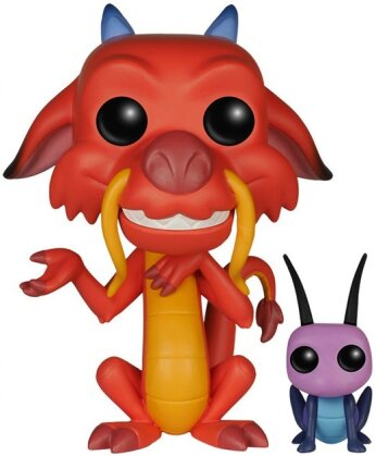 Disney: Mushu & Cri-Kee POP! 167 - Vinyl Bobble-Head