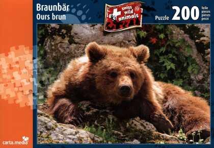 Brown bear - Puzzle [200 piece]