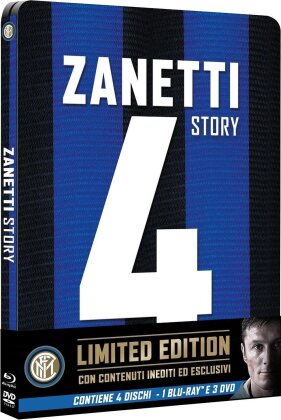 Zanetti Story (2015) (Limited Edition, Steelbook, Blu-ray + 3 DVDs)