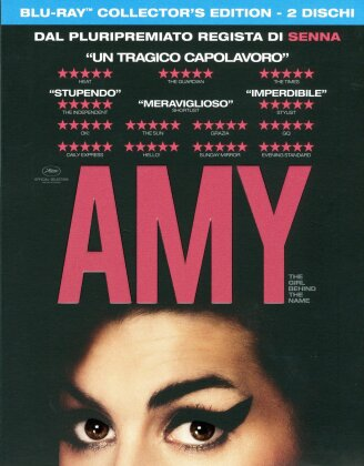 Amy - The Girl Behind The Name (2015) (Collector's Edition, 2 Blu-ray)