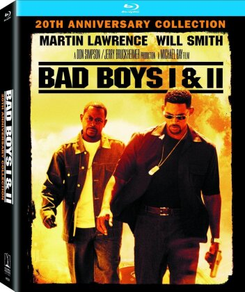 Bad Boys 1 & 2 (20th Anniversary Collection, 4K Mastered, Double Feature, 2 Blu-rays)